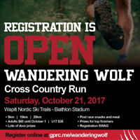 GPRC Wandering Wolf Cross Country Run