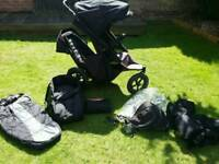 Phil and Teds Sport Double Buggy plus Extras