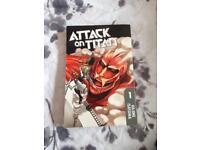 Attack on titan book 1 volume 1 Hajime Isayama Japanese manga