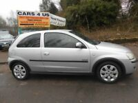 VAUXHALL CORSA 1.2 SXI PLUS 3 door with 12 MONTHS M-O-T, Ideal first car drive very nice ...........