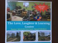 The Love Laughter and Learning Centre (licensed facility)