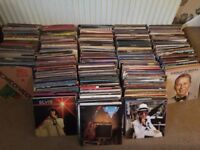 Large- around 1000 collection of vinyl records. All sort of Lps from Jazz to Pop