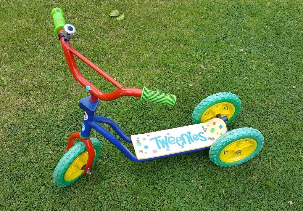Early learner Tweenies scooter - super stable