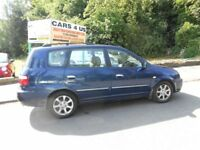 KIA CARENS LE CRDI 2.00 DIESEL SERVICE HISTORY DRIVE VERY NICE COMES WITH FULL 12 MOUNTH , M-O-T ..