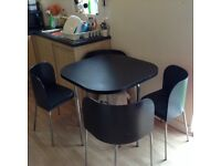 Dinning table + 4 chairs - ikea