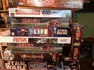 Star wars lord of the rings board games