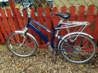 "Raleigh Spirit S240 Hybrid Bicycle 21"" Frame & Dual suspension (for tall person)"