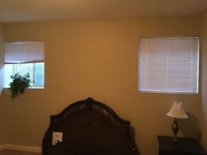bedroom brand new basemen its only available for single person