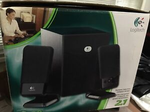 Logitech R-20 Speakers