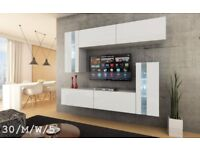 Modern Wall Unit MATT Cabinets Furniture C 30 SYMETRIC Led Free Delivery Cash On Delivery!!