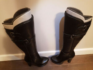 "Guess knee high Stiletto 4 1/2 "" boots"