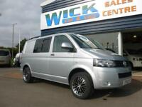 2011 Volkswagen TRANSPORTER T5 T28 102 TDI SWB WINDOW Van *SILVER* Manual Medium