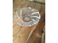 Large Crystal Fruit Bowl