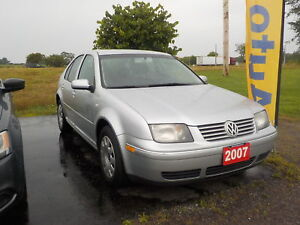 2007 VW JETTA CITY 2.0L GAS AUTO 186,000KM $4900 CERT.