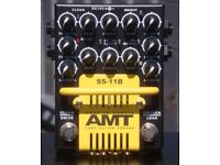"""AMT SS-11B """"Modern"""" 3-Channel Tube Preamp Pedal"""