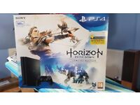 PS4 SLIM BOX WITH WARRANTY PLUS RECEIPT