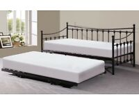 Twin Trundle Day Beds & Mattresses, Great Condition, Can be Used as Doubles - £120 ONO