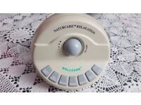 Naturecare Sounds Machine (110) Aids Tinnitus and helps restful nights sleep with soothing sounds.