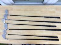Ladies 5,6,7,8,9 Iron and Pitch Wedge (used)