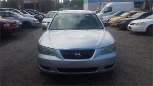 2007 HYUNDIA SONATA AUTO WITH SAFETY EXCELLENT CONDITION