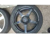 17 inch 4x100 4x114 alloy wheels rims Honda integra ek esi lsi vti eg