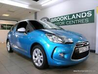 Citroen DS3 1.6E-HDI 90 AIRDREAM DSTYLE [?0 ROAD TAX and STUNNING COLOUR]