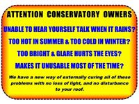 ATTENTION ALL CONSERVATORY OWNERS