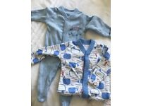 6 new born baby grows
