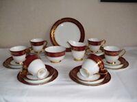 Windsor Bone China Tea Set