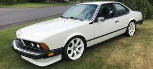 Bmw 635 csi 1987 e24 coupe de luxe ultra rare euro
