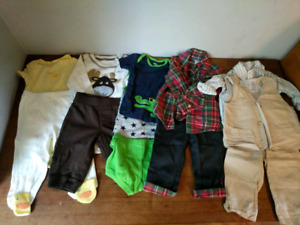 Large Lot Boys clothing size 6 months (80pieces)