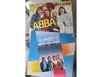 Abba Vinyl LPs - 1 Golden double album and 1 Thank you for the music