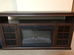 Fireplace TV Stand. Excellent Condition.