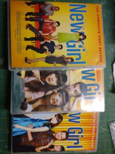 New Girl seasons 1-3 DVD boxsets