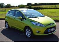 2008 FORD FIESTA 1.25 Zetec 5dr [82] ONLY 41,000 MILES