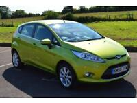 FORD FIESTA 1.25 Zetec 5dr LOW MILEAGE ONLY 41,000 MILES