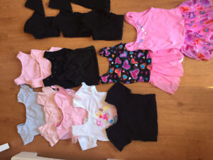 25Pc Ballet Leotards and skirts.