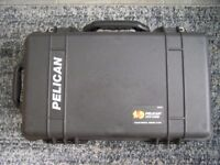Peli 1510 flight transit case for test equipment or camera equipment