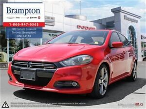 2014 Dodge Dart GT | NAV | SUNROOF | LEATHER | BACKUP CAM |