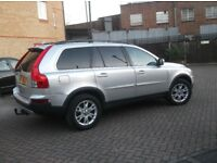 Volvo xc90 silver cream leather history one previous owner
