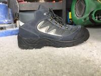 Steel toe cap boots size 10