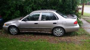 1998 Toyota Corolla VE Sedan