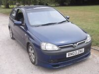 2003 VAUXHALL CORSA SXI 1.7 DTI, MOT MARCH 2018, ONLY 81,000 MILES, ONLY £495