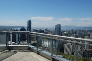 Luxury Penthouse on the 41st Floor at Vancouver Downtown Core