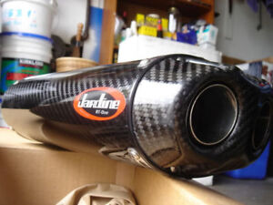Jardine RT1 Dual Outlet Carbon Fiber Slip-on (07-08 ZX6R / RR)