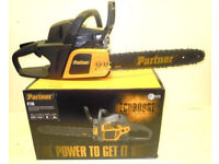 "Chainsaw - 16"" petrol, unused"