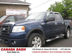 2007 Ford F150 FX4 EDITION 4WD , 12M.WRTY+SAFETY $10900
