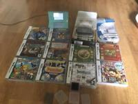 DS Lite bundle with 11 games