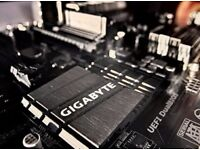 London based technical support, and custom PC building services.