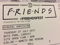 Friendsfest Cardiff tickets *For Sale or Swap dates*